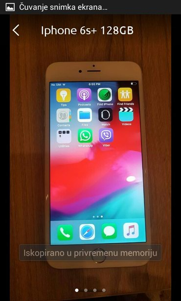 Apple Iphone - Zrenjanin: IPhone 6s Plus 128 GB