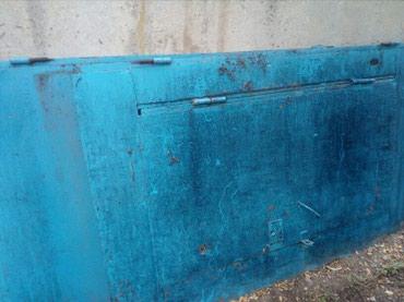 ворота на гараж в Кыргызстан: Продаю гаражные ворота СССР возможен обмен на скот