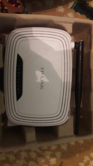 Wi Fi роутер от TP-Link модель:TL-WR740N с каробкой сост-ие отличное в Бишкек