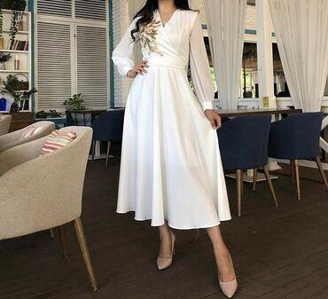 фасоны узбекских платьев со штанами фото в Кыргызстан: Продаю новое платье 48 размера не ношеное, брала для торжества в ЗАГ