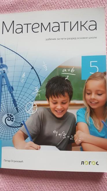 Knjige, časopisi, CD i DVD | Sremska Mitrovica: 5 r matematika udzbenik logos novo