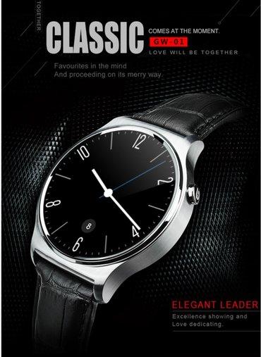 Bakı şəhərində Smartwatch gw01. Teze. Prosessor mtk2502,. Korpus metal. Sensorlu ips