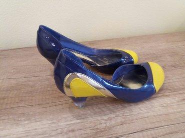 Туфли новые, кожа, лак, размер 35-36, 1500 сом в Бишкек