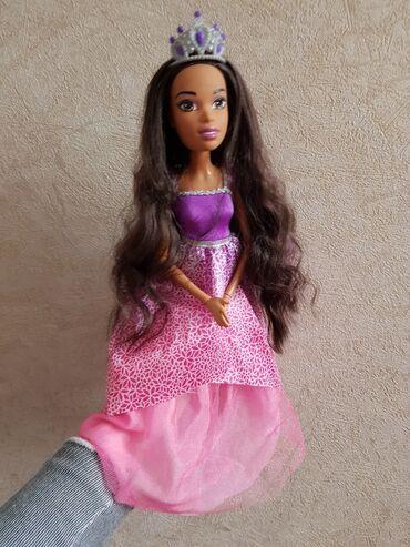 принцесс хаир в Кыргызстан: Продаю куклу Барби 43 см (оригинал) Волосы шикарного качества, все