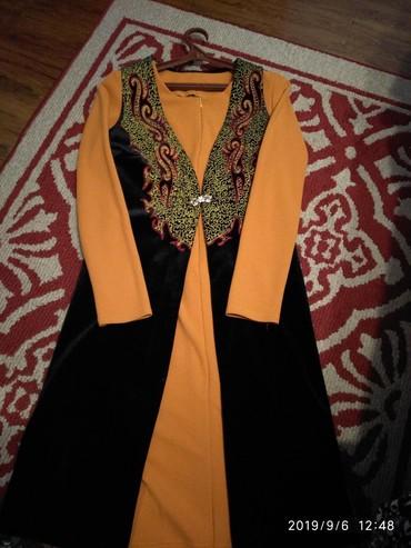 Женская одежда в Каинды: Продаю нац.платье 44-46р. одевала 1раз. прошу 1000с