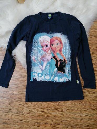Pamucna bluza nemackoj - Srbija: Frozen pamucna bluza, vel. 12 Novo