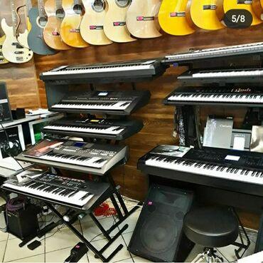 Синтезаторы в Кыргызстан: Синтезаторы/Пианино/Электропианино/Midi клавиатуры