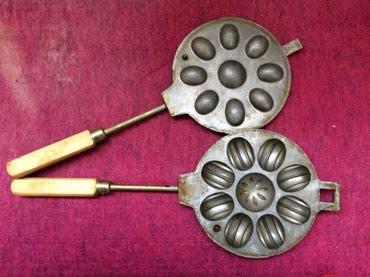 Старинная сковородка для «орешков» в Zərdab