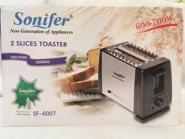 tosterler - Azərbaycan: Sonifer Toaster SF-6007 (600-700W). Yenidir. Hec islenmeyib. Oz