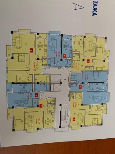 Построен, Элитка, 2 комнаты, 75 кв. м