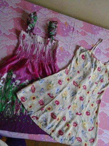 Dve lepe, letnje haljinice za devojčice. Nošene su ali mogu još da - Belgrade