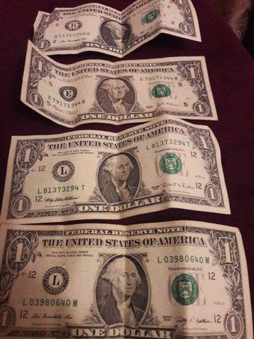Bakı şəhərində 1 dolar esqinazlari