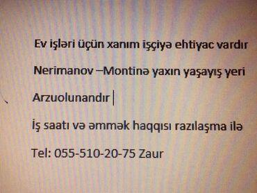 İş axtarıram (rezümelər) - Azərbaycan: Ev qulluqçuları