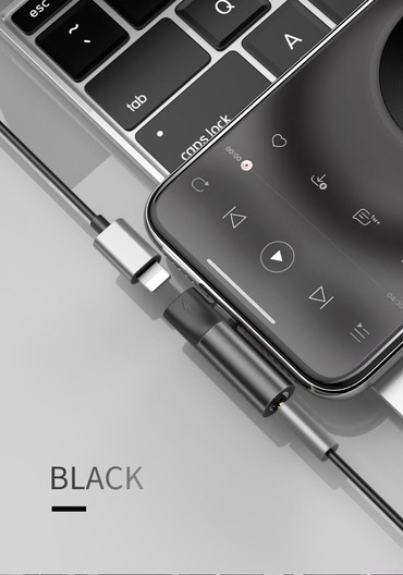 qulaqliq - Azərbaycan: Original Baseus apple iphone modelleri ucun usb aux oturucu.eyni anda