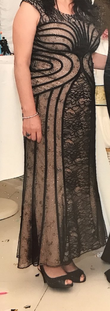 Bakı şəhərində Вечернее платье надевали 1 раз куплена за 400 м
