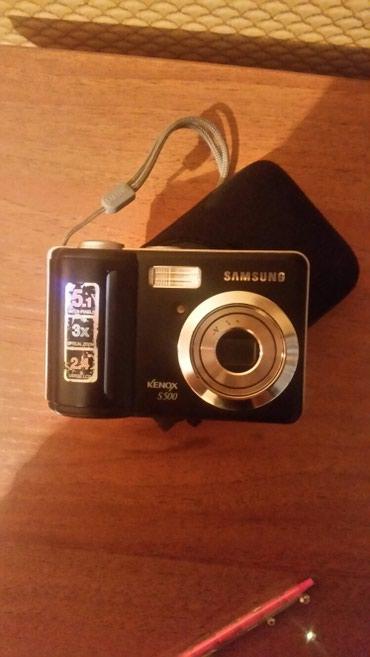 Фотоаппарат SAMSUNG Digimax S500/S600 в рабочем в Бишкек
