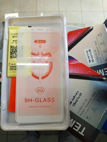 Защитные стёкла 5D на Redmi Note 7, 6Pro,Note 5 Отличного качества! в Бишкек
