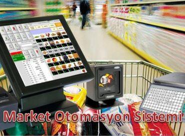 Biznes xidmətləri Bakıda: Otomasyon sistemi qurmaq Ticarət obyektlərində