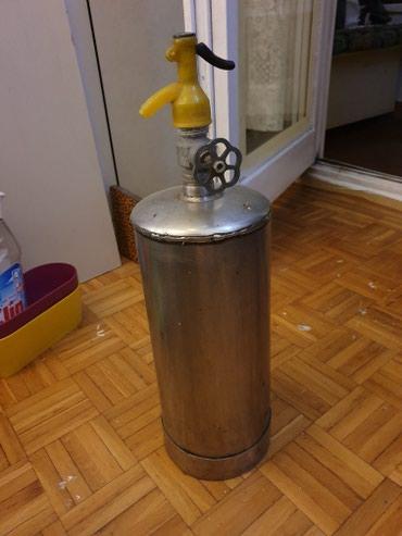 Sifon za sodu od prohroma - 5 litara u odličnom stanju - Belgrade