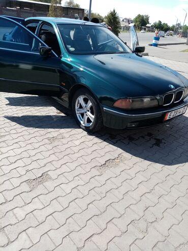BMW - Зеленый - Бишкек: BMW 520 2 л. 1998 | 309500 км