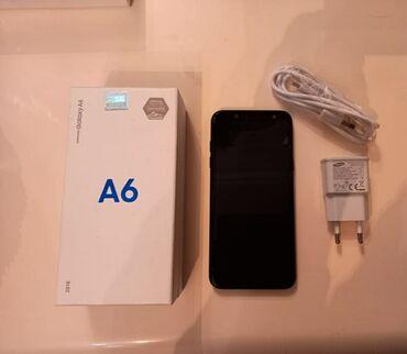 Samsung galaxy young - Азербайджан: Б/у Samsung Galaxy A6 32 ГБ Черный