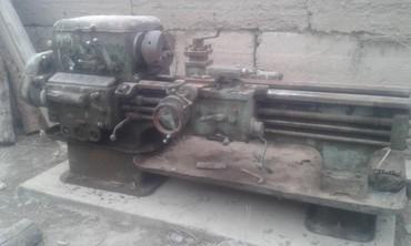 Оборудование для бизнеса - Баетов: Продаю токарный станок 1А62, состояние среднее, задняя бабка есть