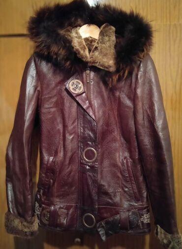 Чистая кожа. Продам куртку зимнюю, кожаная. Очень теплая. Удобная. Мне