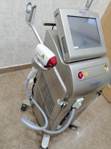 Bakı şəhərində Soprano Ice lazer epilyasiya apparatı. ALMA LASERS (İsrail). 1 il