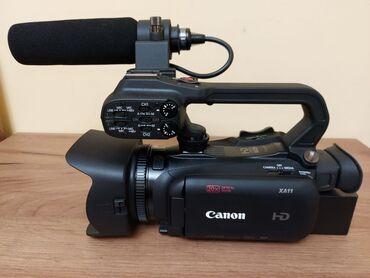 Canon XA 11 Компактная профессиональная видеокамера Full HD с высоким