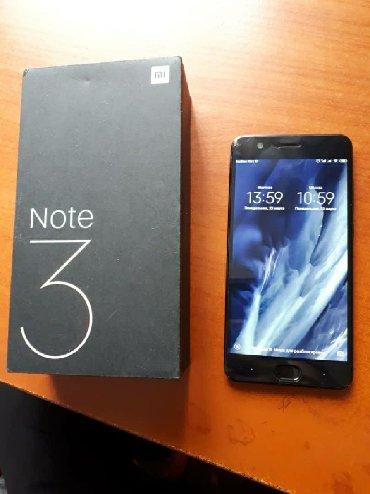 xiaomi redmi note 2 4pda в Кыргызстан: Б/у Xiaomi Mi Note 3 64 ГБ Черный