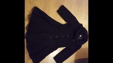 Crni kaputic vel. 38 - kao haljinica - Prokuplje