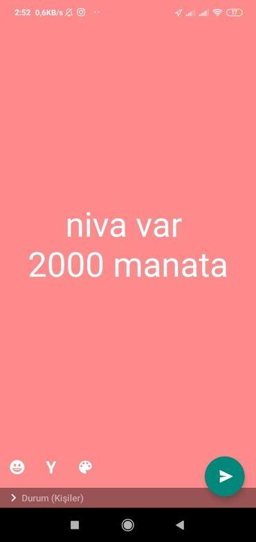 niva şekilleri - Azərbaycan: VAZ (LADA) 1.6 l. 1989   150000 km