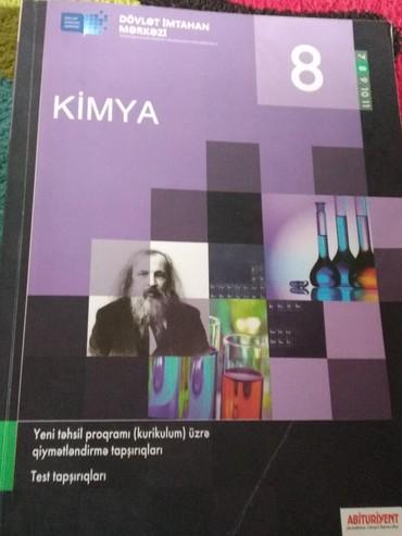 Спорт и хобби в Кюрдамир: 8-ci sinif Kimya testi. Az işlənilib. Bakı. Mərdəkan qəs