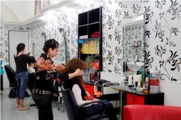 Bakı şəhərində Gözəllik salonuna saç ustaları və vizajıst tələb olunur,iş