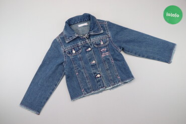 Дитяча джинсова куртка з принтом принцеси на спині Ms. Gloria, вік 2 р