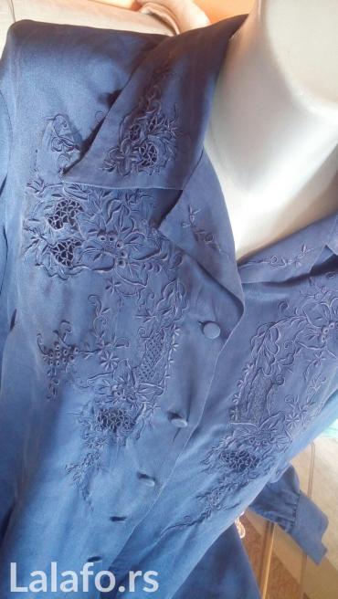 Cista svila kraljevsko plavo 42 vel. - Krusevac