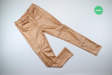 Жіночі шкіряні штани, р. L    Довжина: 90 см Довжина кроку: 65 см Напі