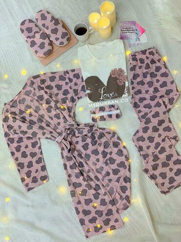 pijama - Azərbaycan: S-M razimere geden 5-li pijama desti 45 manat  Turkiyenindir eldedir