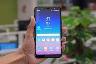 Samsung - Salyan: Yeni Samsung Galaxy A6 Plus 64 GB qara