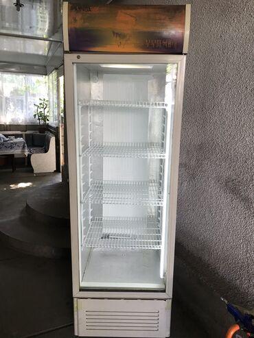 Б/у Холодильник-витрина Белый холодильник Caso
