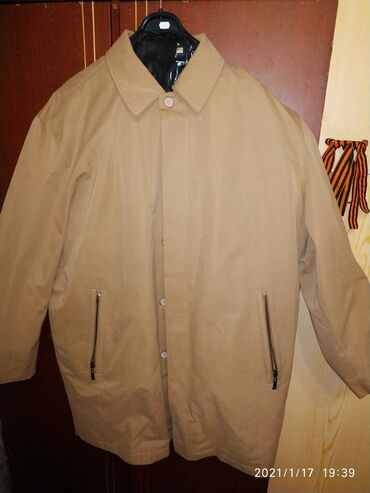 мужской плащ в Кыргызстан: Плащевка куртка мужская. Новая!!! Размер 54 написано. На наш