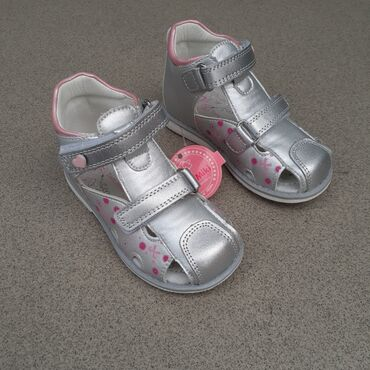 Ортопедические сандали для девочек от Tom miki, кожаные стельки