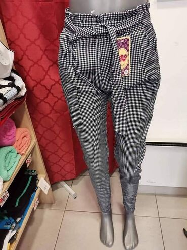 Zenske pantalo - Srbija: Lagane zenske pantalone sa elastinom u vel XXL. 3XL  Cena: 950