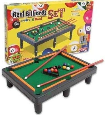 Bilijar set – zabava za celu porodicu 40 x 32 x 14cm Cena