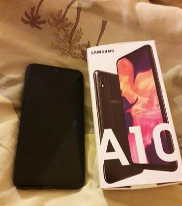Samsung A10 | 32 GB | Qara | İki sim kartlı, Face ID, Sənədlərlə