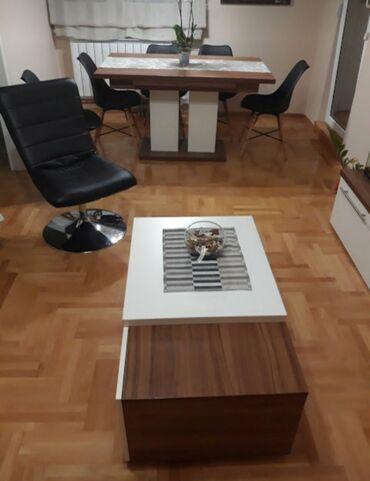 Na prodaju trpezarijski sto i klub sto u odličnom stanju bez oštećenja