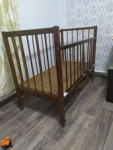 usaq ucun iki mertebeli kravat в Кыргызстан: Детская кроватка, без ни чего то что на фото