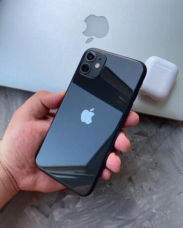 IPhone 11 | 128 ГБ | Черный | Гарантия, Отпечаток пальца, Беспроводная зарядка
