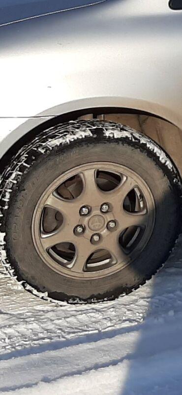 купить шины 205 60 r16 лето в Кыргызстан: Продаю диски на тойоту подходят и на хонду с разбалтовкой 3 диски