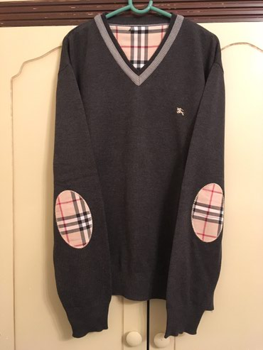 Broj burberry - Srbija: Original Burberry džemper, kao nov, 100% cotton, made in Great